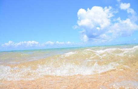 海水から天然塩できています