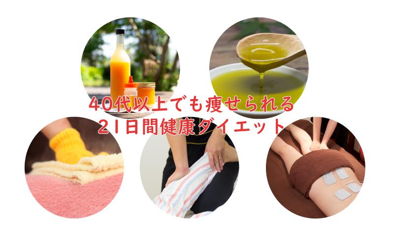 血液サラサラ21日間ダイエット+EMS