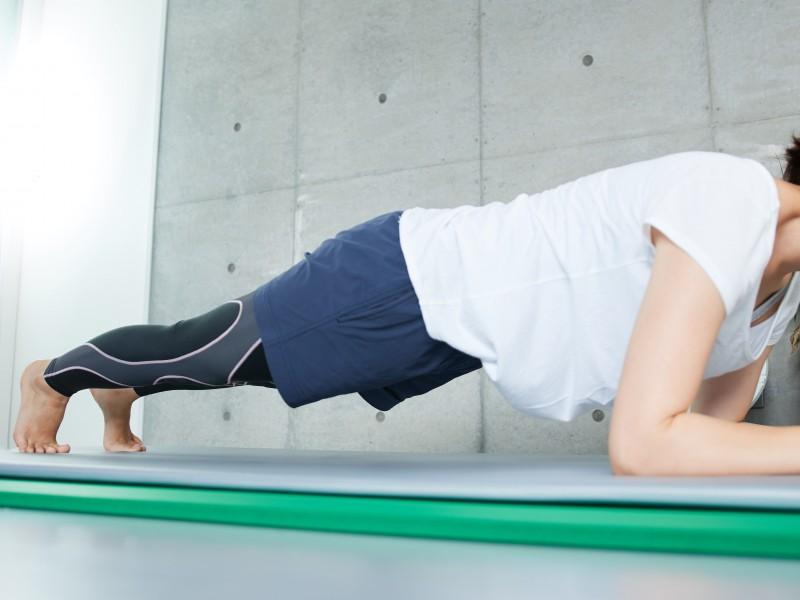 ダイエット・肩こりにも良し。体幹トレーニング!